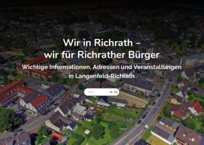 Informationsportal für Senioren in Richrath